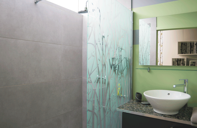 "Salle de bain de la chambre ""Campagne"""