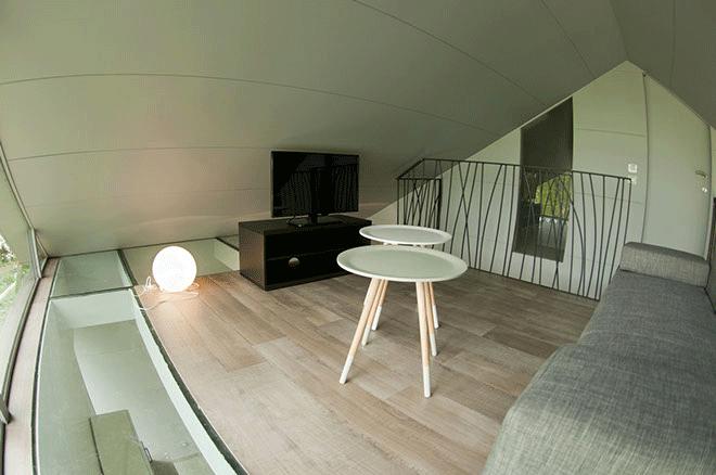 """Mezzanine des chambres : """"Métal"""" & """"Tonique"""""""